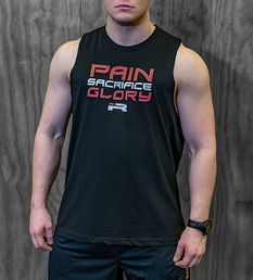 Iron Rebel Pain Sacrifice Glory - Muscle shirt