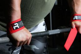 Iron Rebel Padded Lifting Straps