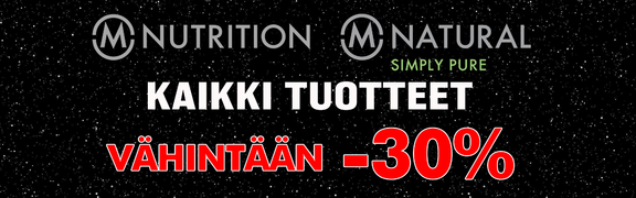 2018-11 Black Week - M-Nutrition & M-Natural